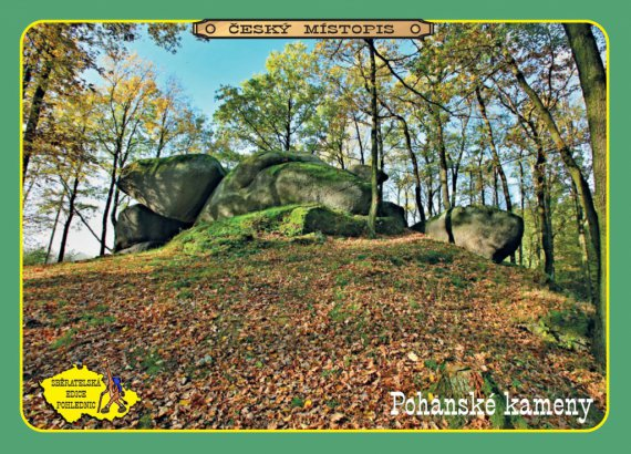 852 pohanske kameny